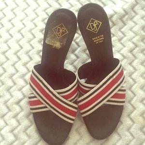 Donald J Pliner heel shoes Sz 6